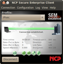 NCP Secure Enterprise Linux Client