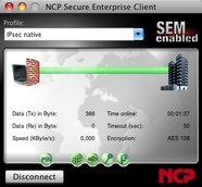 NCP Secure Enterprise Mac OS X Client
