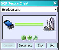NCP Secure Enterprise Windows Mobile Client (CE)