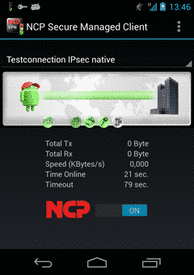 NCP Secure Enterprise Android Client