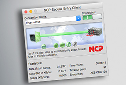 NCP Secure Entry Mac Client